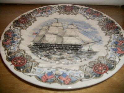 #PAN23 MADE IN ENGLAND TALL SHIPS COLLECTABLE PLAT
