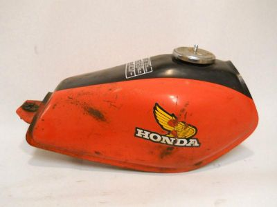 Buy 1982 Honda XR100 Metal Fuel Gas Tank motorcycle in Richlandtown, Pennsylvania, US, for US $199.99