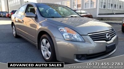 2008 Nissan Altima 2.5 S (Gold)