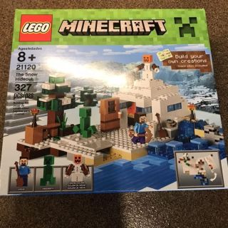 New in Box Minecraft Lego Snow Hideout