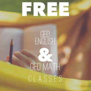 FREE GED Math & English Classes