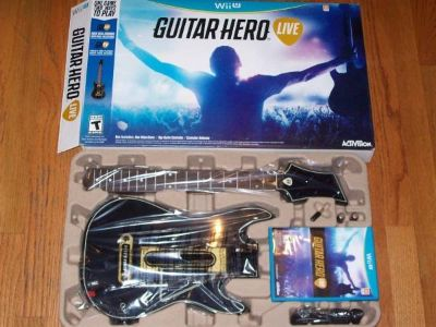 WII GUITAR HERO LIVE BUNDLE - NEW IN BOX