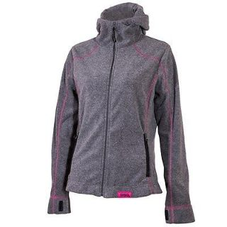 Buy Yamaha Womens Divas Snow Gear Hooded Fleece Gray/Pink Medium motorcycle in Maumee, Ohio, United States, for US $52.99