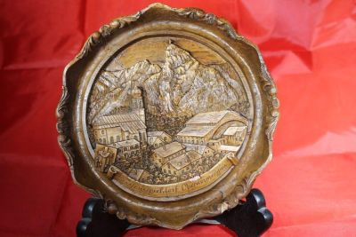 WOOD plate plaque Wall hanging