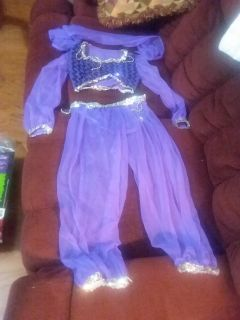 Child's small 4/6 Halloween genie outfit