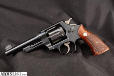 For Sale: Smith & Wesson S&W Rare .44 Hand Ejector Model Of 1926, Post-War Transition, Blue 5 Da Revolver & Paperwork, MFD 1946 C&R .44 Special