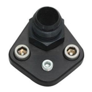 Purchase Moroso 65398 BB Chevy Fuel Pump Block Off -12AN motorcycle in Suitland, Maryland, US, for US $47.83