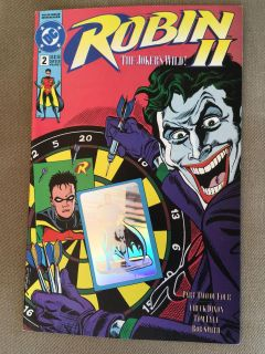 Robin #2 1991 dc comics free shipping on all items