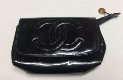 Chanel make up bag with Mirror