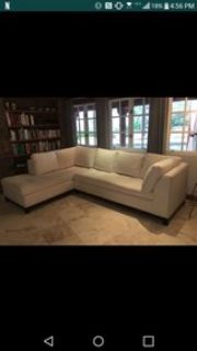 **PRICE DROP!** 3 year old sectional sofa
