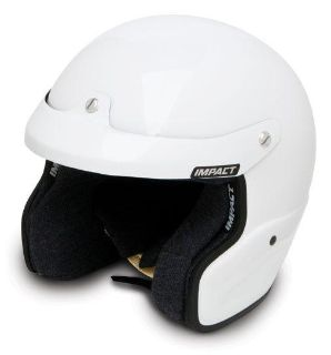 Purchase IMPACT RACING 15099609 VELOCITY HELMET X-LARGE WHITE SA2010 motorcycle in Moline, Illinois, US, for US $269.99