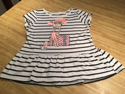Super cute glitter accent ruffle Tee from Child s place