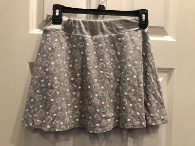 Adorable Hello Kitty Skirt w/ built-in Shorts underneath. Girl s SZ 12/14