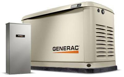 2019 Generac Guardian 11kW Home Backup Generator with Whole House Switch WiFi-Enabled Generators Jacksonville, FL