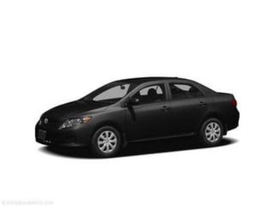 2011 Toyota Corolla Base (Black Sand Pearl)