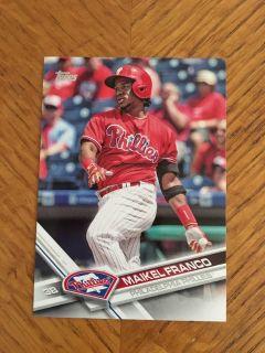 Maikel Franco 2017 Topps Phillies Baseball Card