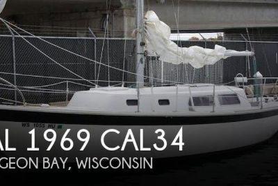 1969 Cal 34