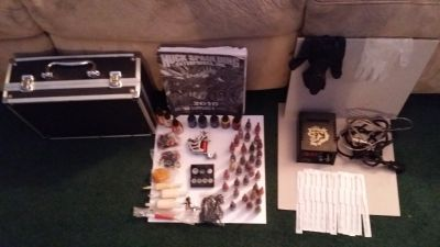 """""""FAMILY EMERGENCY"""" MUST SELL IMMEDIATELY - """"TATTOO KIT"""" JEWELRY CAR STEREO DVD PLAYER FLASH DRIVE ANTIQUE BOTTLES"""