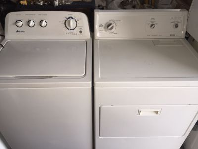 Washer and Electric Dryer