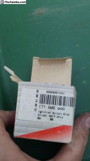 Ignition switch Electrical portion