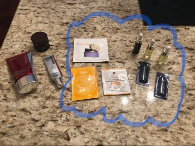 Beauty product lot. Great way to try out higher end product.