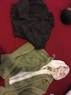 Jackets small and xs