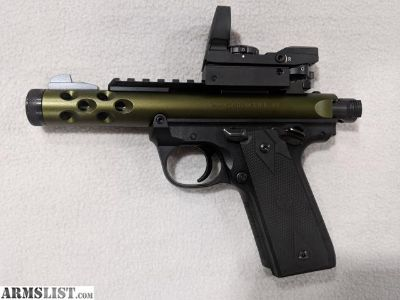 For Sale: Ruger Mark IV 22/45 LITE 22LR (Model Number: 43916)