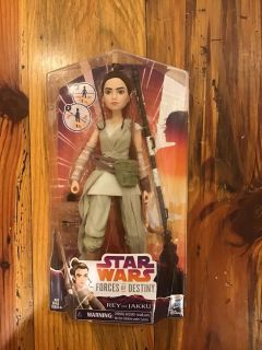 Brand new Rey from Star Wars large action figure - NIB