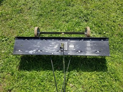 Blue Hawk Dethater for lawn tractor