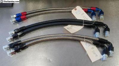AN Oil filter lines