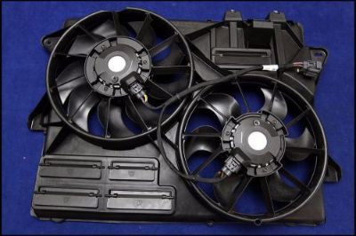 Sell 2015-2016 MUSTANG COYOTE GT 5.0 engine cooling fan assembly oem 2015 2016 15 16 motorcycle in Lyons, Georgia, United States, for US $174.99