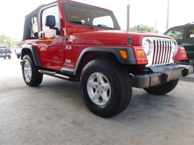2005 Jeep Wrangler X (Red)