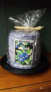 Blueberry cake scent with stand