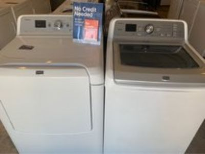 Maytag washer and dryer electric