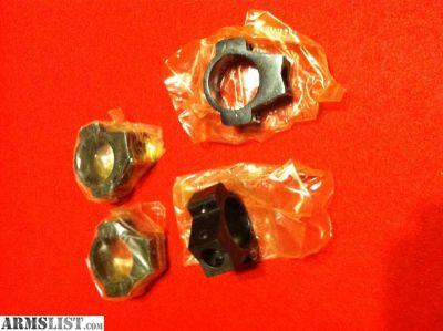 """For Sale: Vintage 1"""" Steel Scope Rings"""