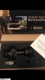 For Sale: Burris speed dot