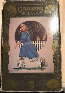 Goldilocks And The Three Bears VHS