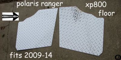 Find POLARIS RANGER XP800 FULLSIDE CUSTOM CUT DIAMOND PLATE FLOOR BOARDS 2009-14 motorcycle in Elmwood Park, Illinois, United States, for US $67.95