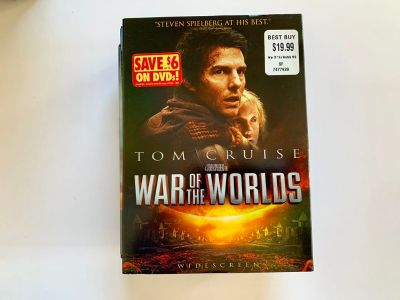 Tom Cruise War of The Worlds DVD