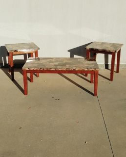 Ashley Signature Design 3 Piece Coffee and End Tables Set