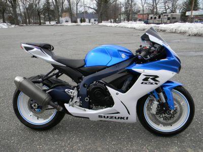 2011 Suzuki GSX-R600 Supersport Springfield, MA