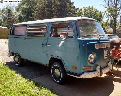1971 Tin Top Westy Low Light Camper bus