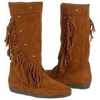 $60 Native American/Indian Boots - Minnetonka company