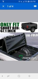 Ford f150 short bed tri fold bed cover