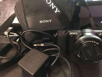 New Sony a5100 camera -