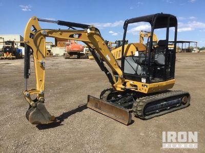 2016 Cat 302.7D CR Mini Excavator