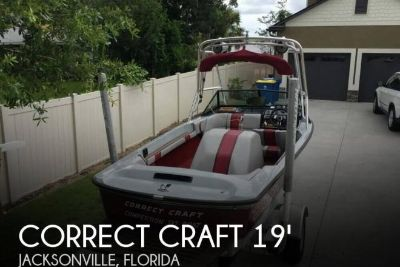 1987 Correct Craft 2001 Ski Nautique