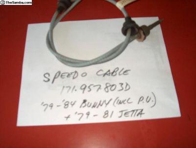 NOS Speedo cable