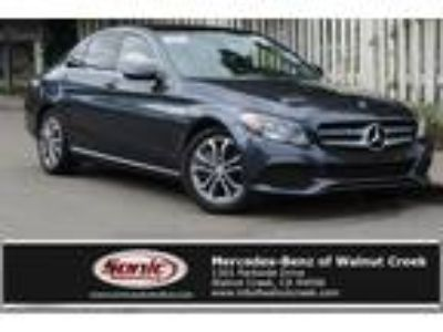 Used 2016 Mercedes-Benz C-Class Gray, 25.3K miles