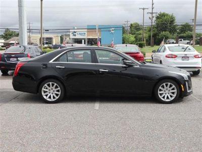 2015 Cadillac CTS Sedan 4dr Sdn 3.6L Luxury RWD (Black)